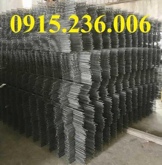 Lưới thép hàn D8  a200x200 dạng tấm làm theo yêu cầu4