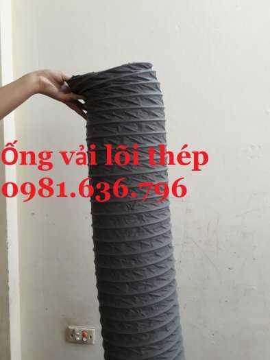 Ống gió mềm vải lõi thép D10011