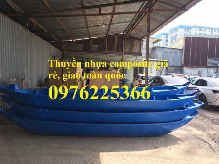 Thuyền composite 3m, 4m, 5m,6m giá rẻ, giao toàn quốc0