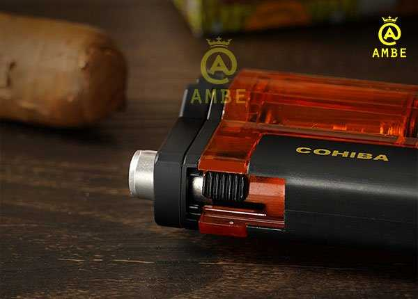 Bật lửa khò xì gà 3 tia Cohiba COB353