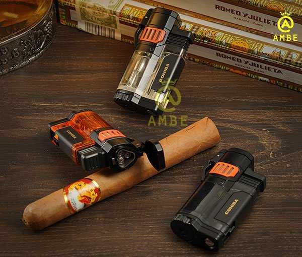 Bật lửa khò xì gà 3 tia Cohiba COB351