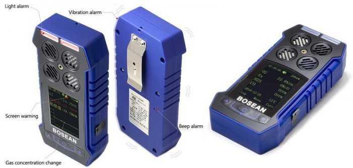 Máy đo khí độc BH-4S LEL,CO, O2, H2S