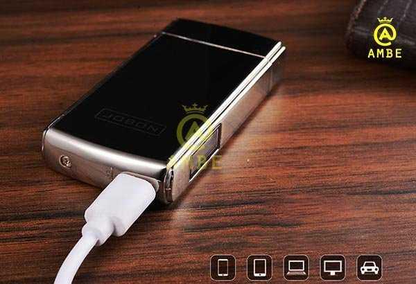 Bật lửa sạc USB phóng điện Jobon ZB3894