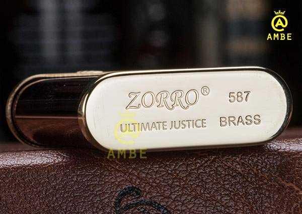 Bật lửa xăng đá Zorro Z5874