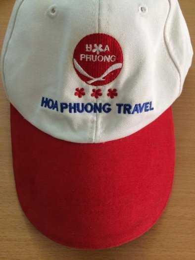 May mũ nón thêu logo theo yêu cầu8