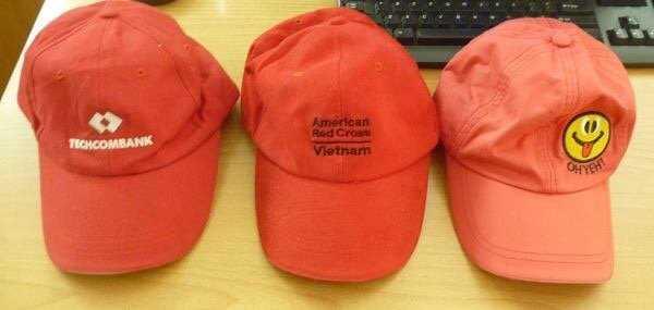 May mũ nón thêu logo theo yêu cầu1
