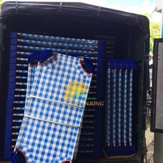 Cung cấp sỉ - lẻ giường lưới mầm non cho bé ngủ trưa0