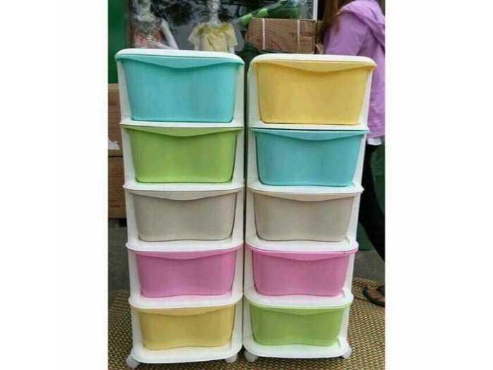 Tủ nhựa đa màu sắc gaga1