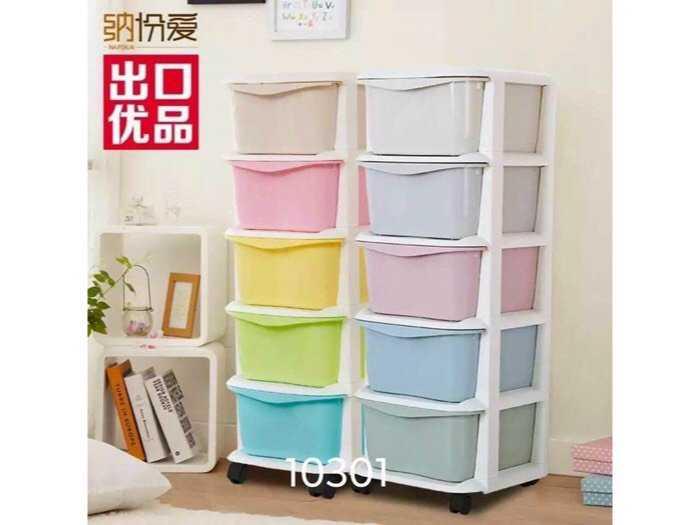 Tủ nhựa đa màu sắc gaga2