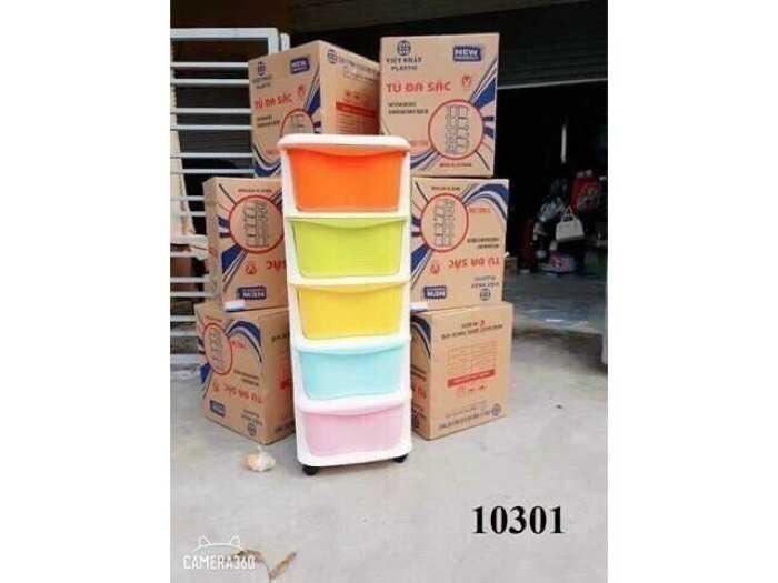 Tủ nhựa đa màu sắc gaga4