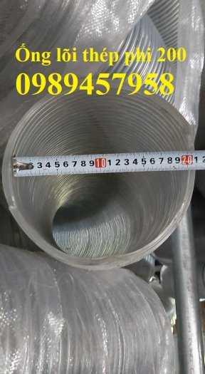 Ống nhựa mềm lõi thép phi 75, phi 80, phi 100, Ống dẫn nước phi 150, phi 2000