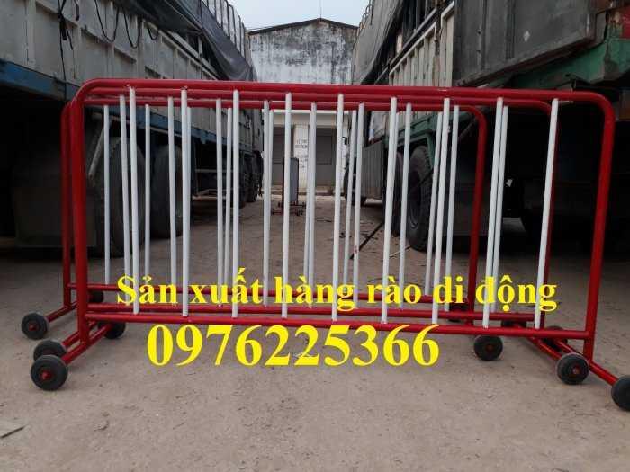 Hàng rào di động, chuyên sản xuất khung hàng rào chắn giá rẻ3