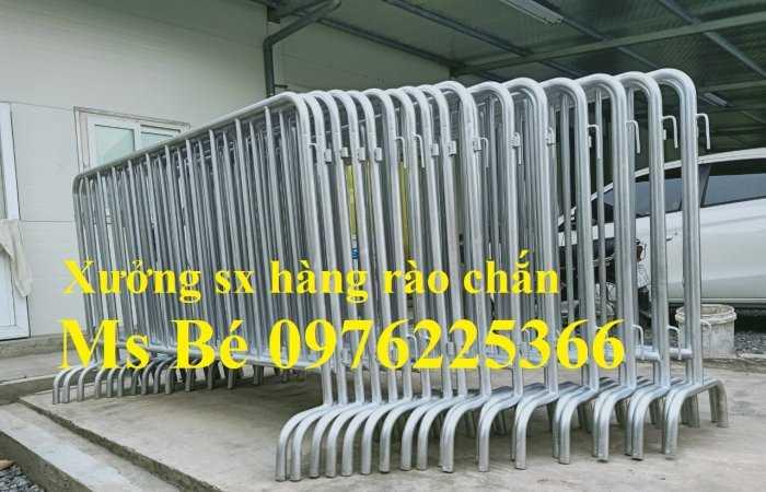 Hàng rào di động, chuyên sản xuất khung hàng rào chắn giá rẻ2