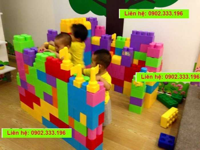 Cung cấp đồ chơi xếp hình khu vui chơi lớn