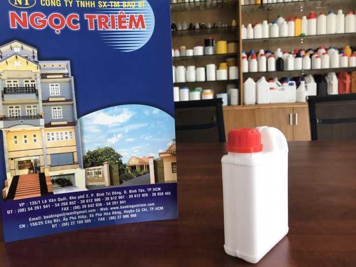 Bình Nhựa 250ml (B-AC) - Bao Bì Ngọc Triêm1