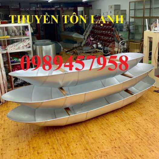 Sản xuất Thuyền inox chèo tay chở 2 người, Thuyền Inox giá rẻ2