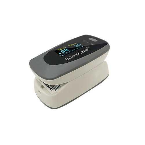 Máy đo nồng độ bão hòa oxy trong máu (SpO2) và nhịp tim iMediCare iOM-A84