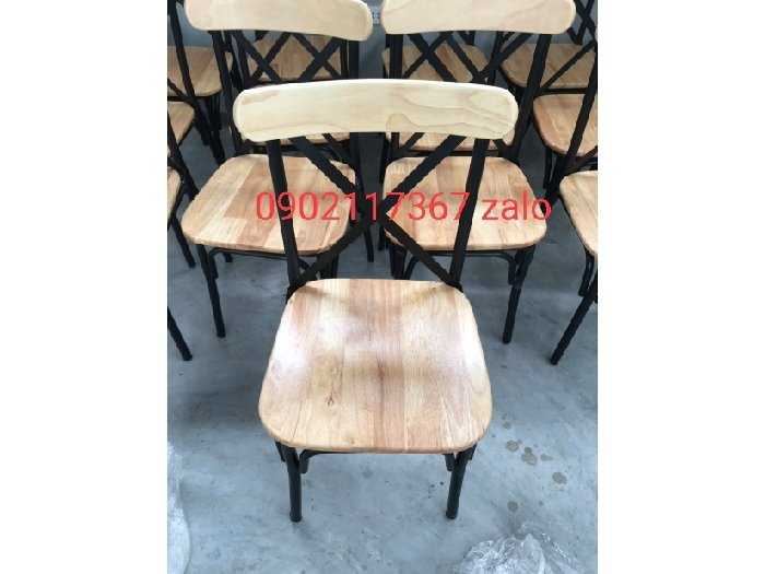Ghế sắt cafe giá tại xưởng tphcm