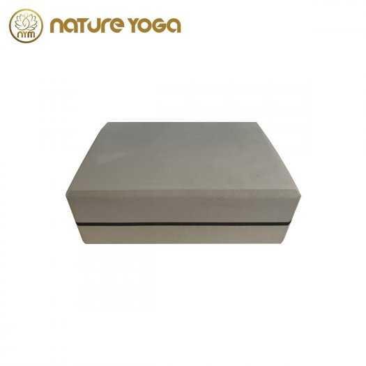 Gạch Khối tập yoga EVA NYM 420 Gram xám5