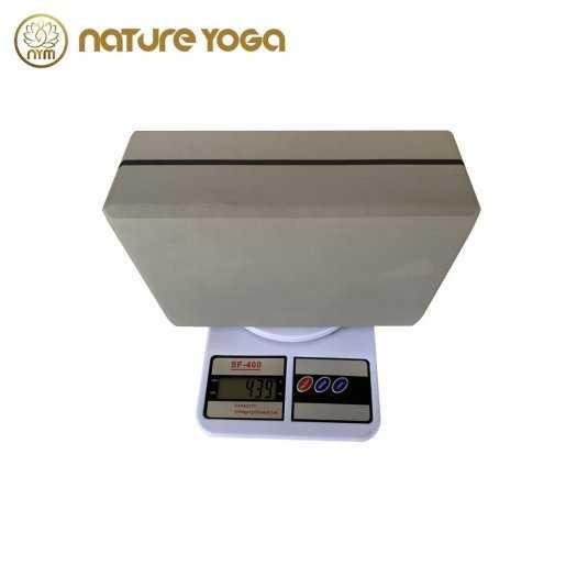Gạch Khối tập yoga EVA NYM 420 Gram xám3