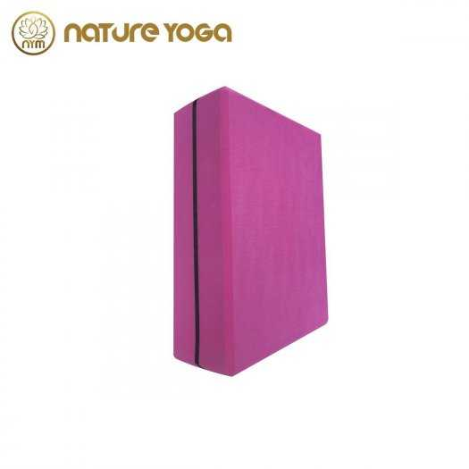 Gạch Khối tập yoga EVA NYM 420 Gram xám4