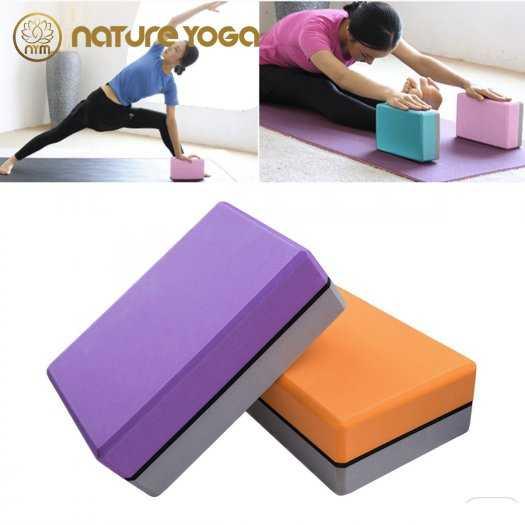 Gạch Khối tập yoga EVA NYM 420 Gram xám0