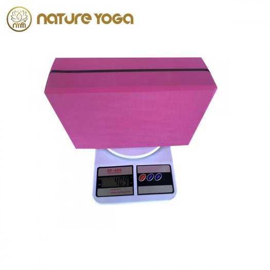 Gạch Khối tập yoga EVA NYM 420 Gram xám2