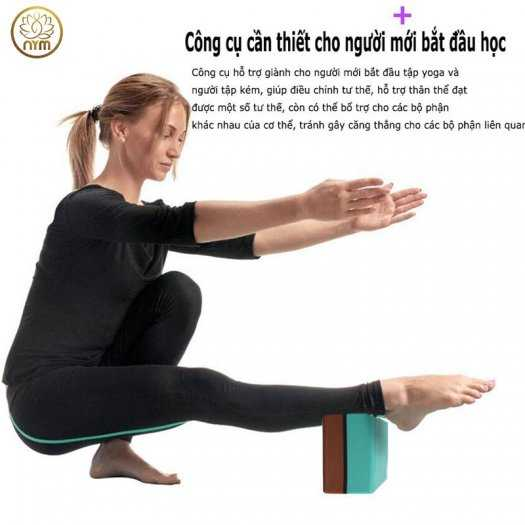 Gạch tập yoga EVA Độ Bền Cao 2 Lớp Cao Cấp5