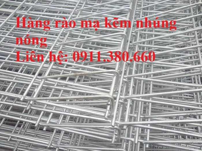 Hàng rào lưới thép gập đầu D5a 50x100, 50x150,... mạ kẽm nhúng nóng2
