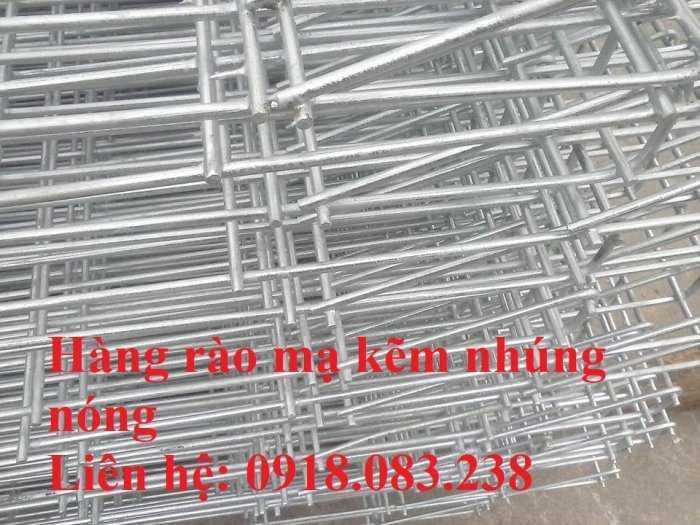 Hàng rào lưới thép gập đầu D5a 50x100, 50x150,... mạ kẽm nhúng nóng0