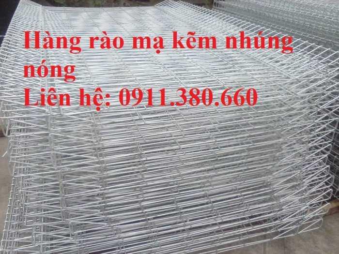 Hàng rào lưới thép gập đầu D5a 50x100, 50x150,... mạ kẽm nhúng nóng1