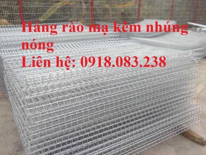 Hàng rào lưới thép gập đầu D5a 50x100, 50x150,... mạ kẽm nhúng nóng3