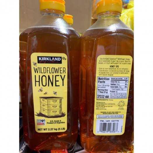 Mát phổi, chống ho - Mật Ong Mỹ Clover Honey Kirkland Nguyên Chất Tăng Khả Năng Miễn Dịch Cho Cơ Thể - MSN1811232