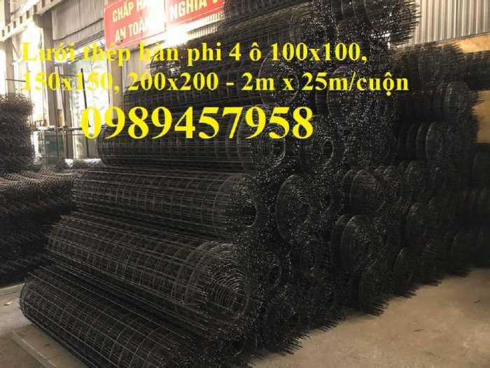 Lưới thép hàn chống thấm D3, D4, Lưới chống nứt bê tông phi 3, phi 4 a 200x200, 250x2508