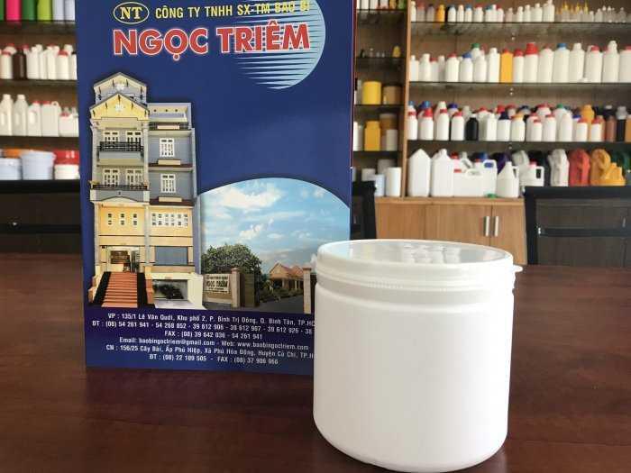 Hủ Nhựa 500g (H-021) - Bao Bì Ngọc Triêm0