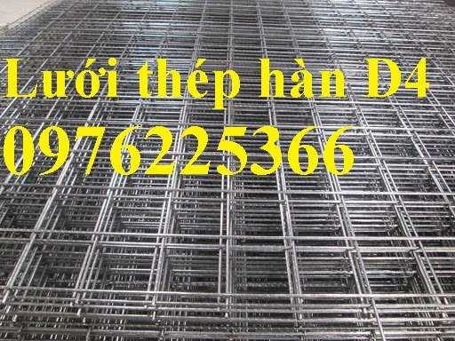 Lưới đổ sàn bê tông phi 4, hàng có sẵn8