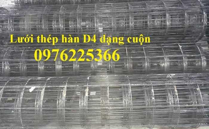 Lưới đổ sàn bê tông phi 4, hàng có sẵn6