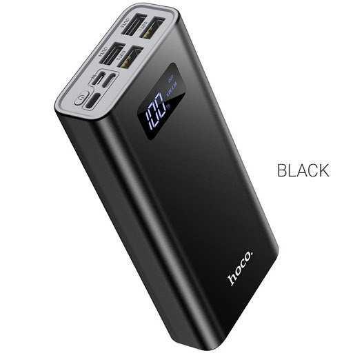 Pin sạc dự phòng Hoco J46A 20000mah 4 cổng USB 2.0A màn hình led0