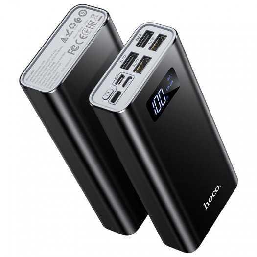 Pin dự phòng Hoco J46A 20000mah 4 cổng USB 2.0A màn hình led mới5