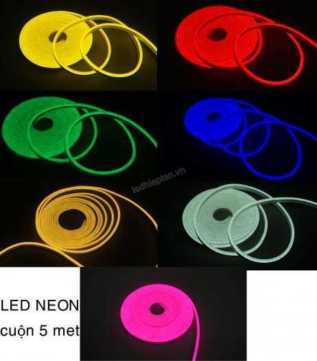 Cuộn dây LED Neon Các màu - Vật Tư LED - LED Hiệp Tân3