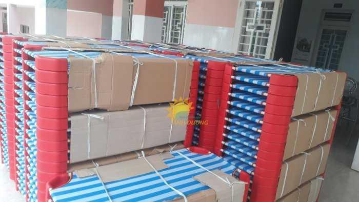 Chuyên bán giường lưới mầm non cho các bé ngủ ngon giá TỐT0