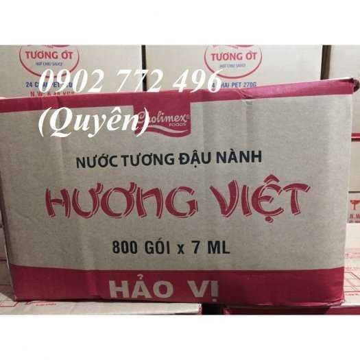 Nước tương gói nhỏ 7ml Hương Việt-Cholimex0