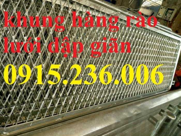 Hàng rào lưới dập giãn, lưới XG 19, XG20, XG21..., lưới trang trí mới 100%4