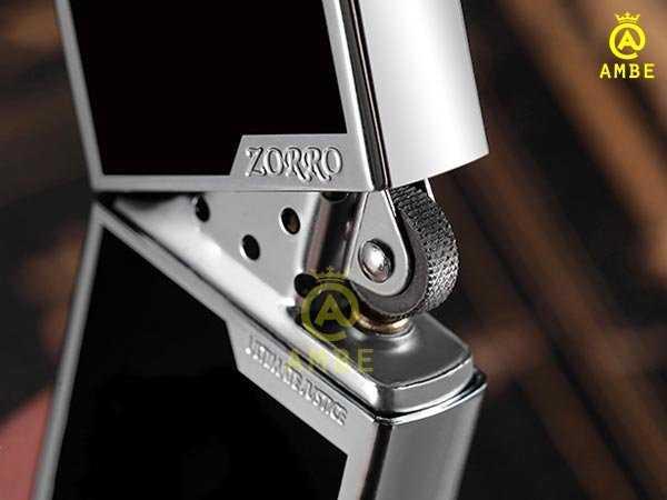Bật lửa 2 mộc đáy chất lượng Zorro Z60072