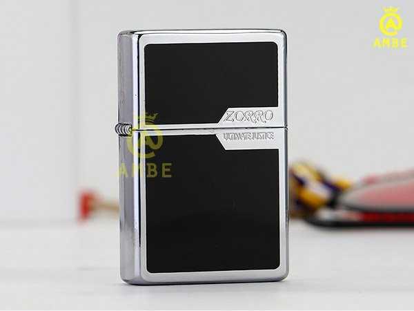 Bật lửa 2 mộc đáy chất lượng Zorro Z60073