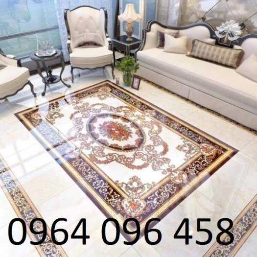 Gạch thảm 3d lát phòng khách - CMM650
