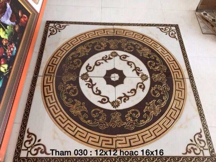 Gạch thảm 3d lát phòng khách - CMM652