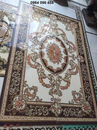 Gạch thảm 3d lát phòng khách - CMM654
