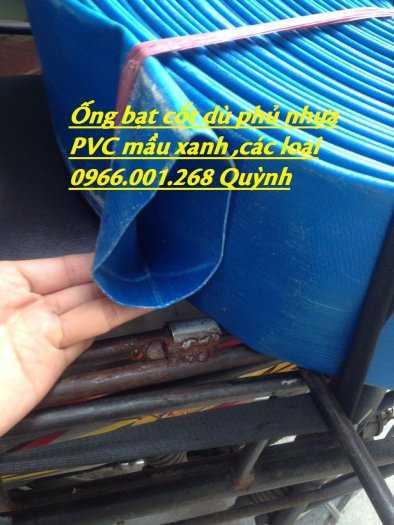 Báo giá ống vải bạt cốt dù, ống bạt xanh xả nước D60,D80,D100,D120,D1504