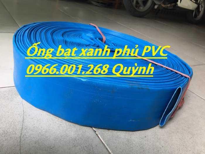 Báo giá ống vải bạt cốt dù, ống bạt xanh xả nước D60,D80,D100,D120,D1506